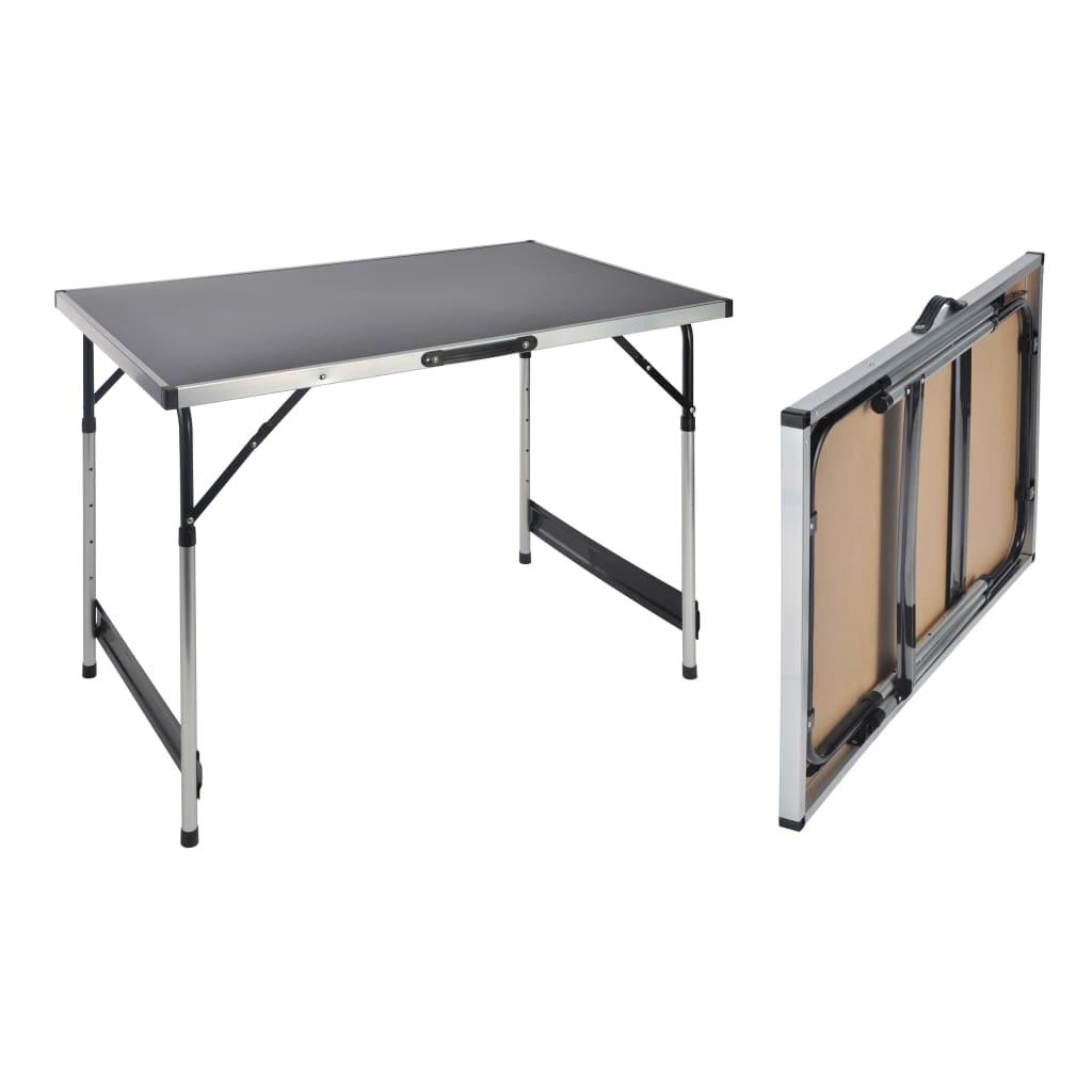 HI Hopfällbart bord 100x60x94 cm aluminium