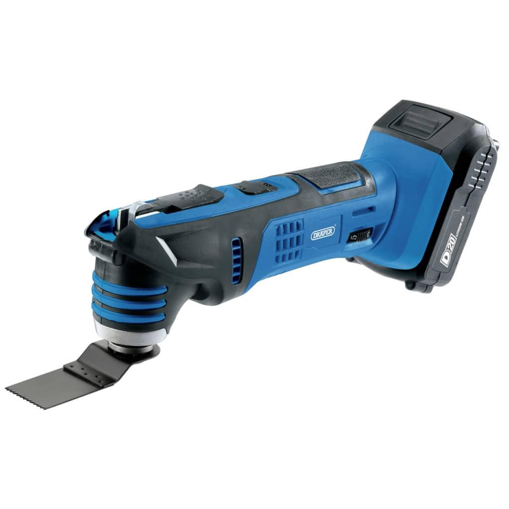 Draper Tools Multiverktyg med 1 x 2Ah D20-batteri 20V