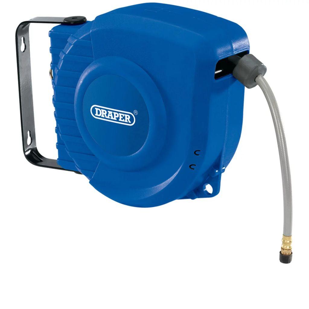 Draper Tools Slangvinda tryckluft automatisk upprullning 12 m 15047