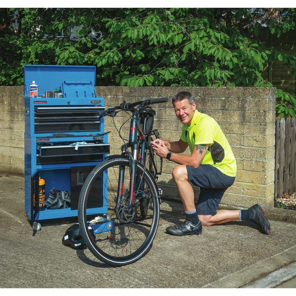 Draper Tools Verktygsskåp och verktygslåda 61,6x33x99,8 cm blå