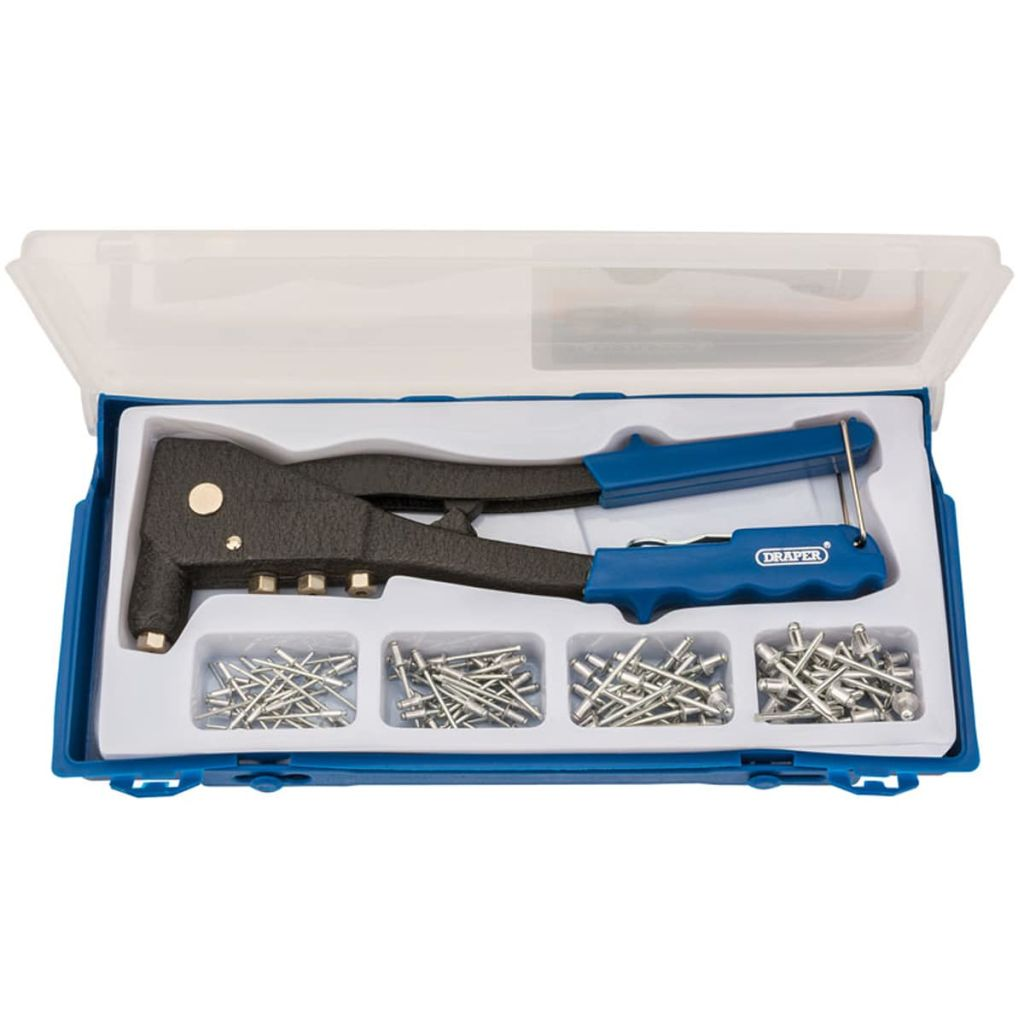 Draper Tools Nittångsset blå 27843