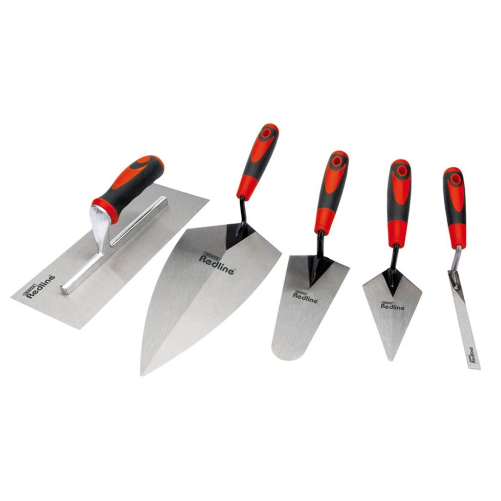 Draper Tools Murslevsats i fem delar kolstål 69153