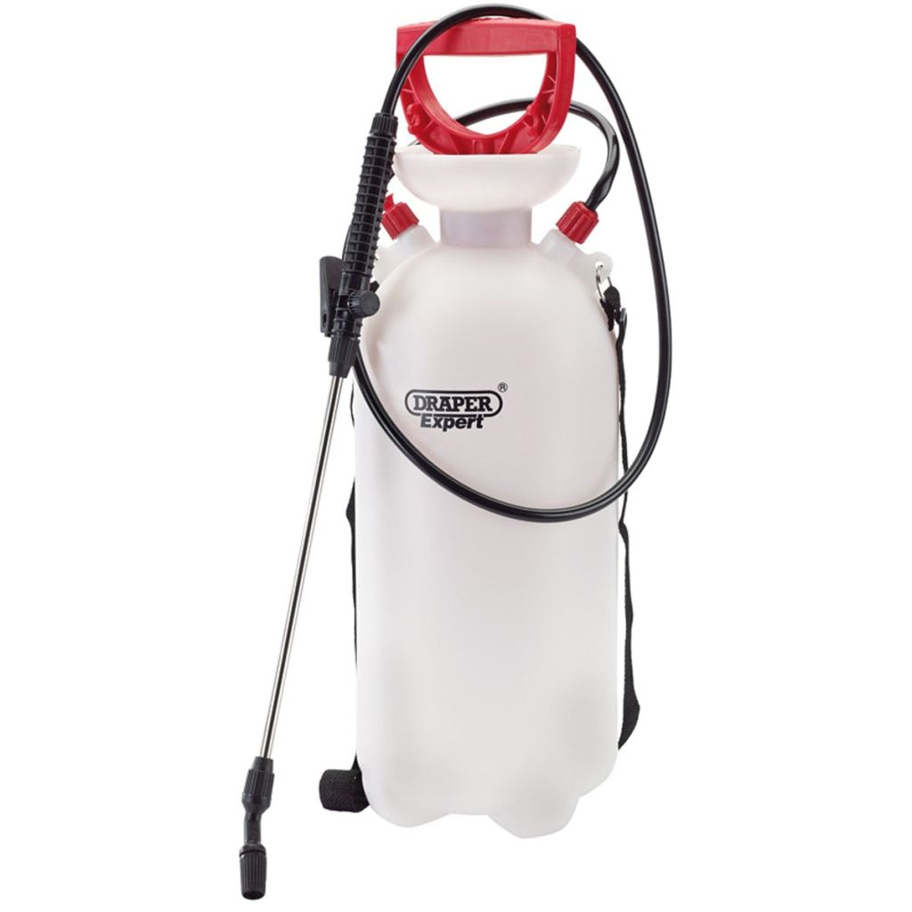 Draper Tools Expert Pumpspruta 10 L röd 82460