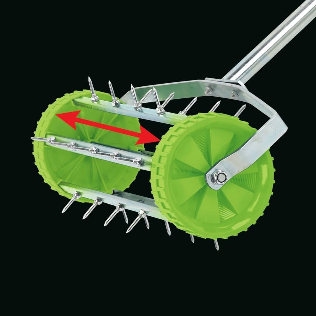 Draper Tools Gräsmatteluftare 450 mm grön