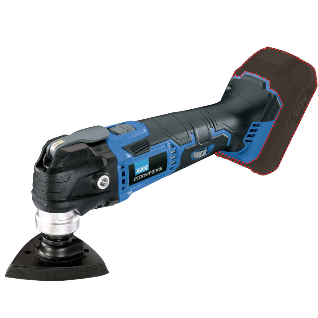 Draper Tools Multiverktyg Storm Force 20V