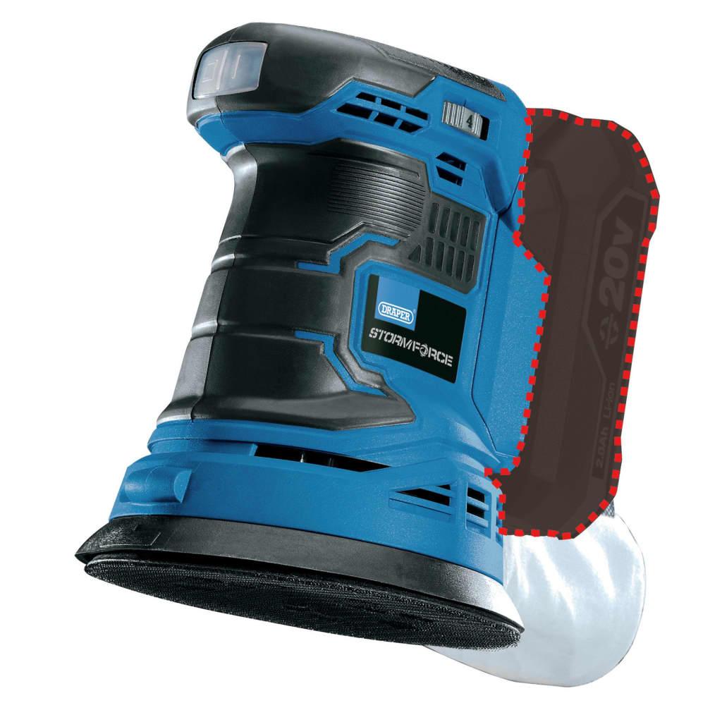 Draper Tools Excenterslip Storm Force 20V