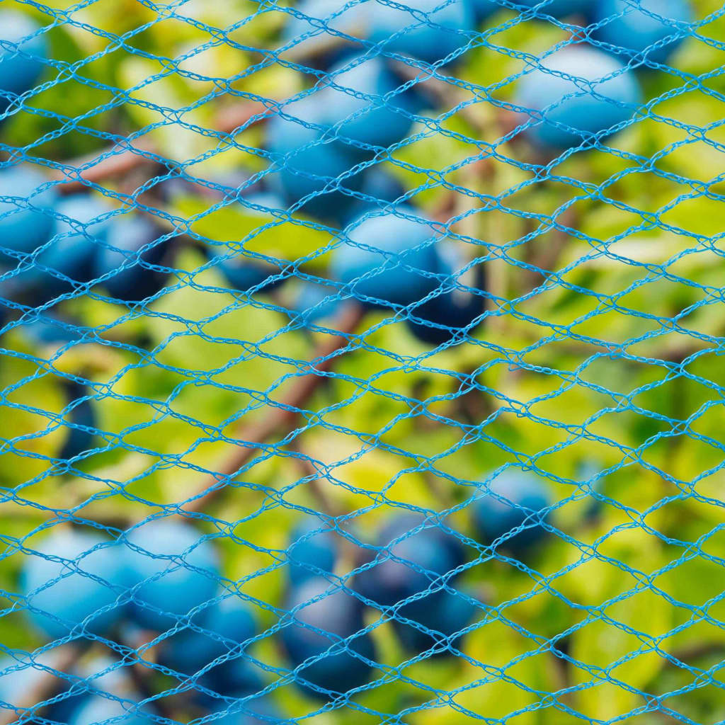 Nature Fågelnät Nano 10x4 m blå
