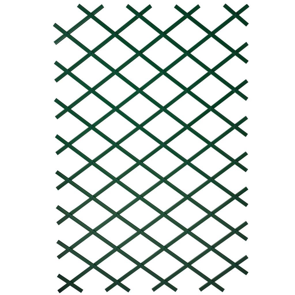 Nature Trädgårdsspaljé 50x150 cm PVC grön 6040702