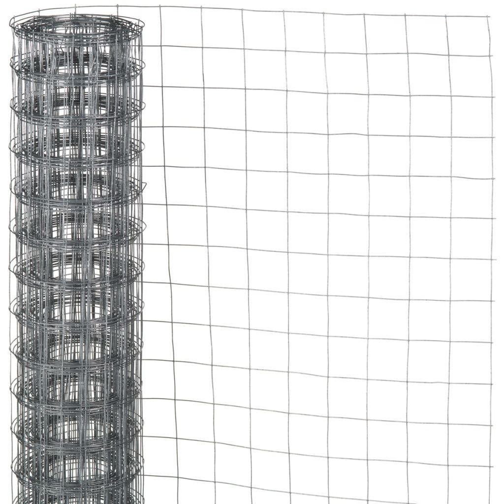 Nature Ståltrådsnät fyrkantig 0,5x5 m 13 mm galvaniserat stål