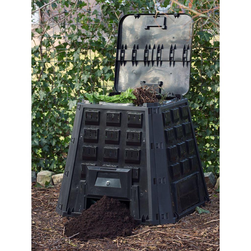 Nature Kompostlåda svart 400 L 6071480
