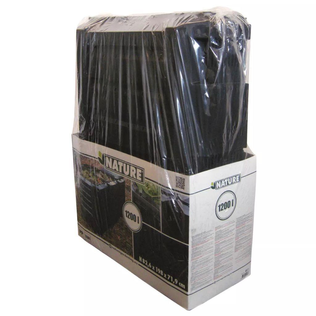 Nature Kompostlåda svart 1200 L 6071483