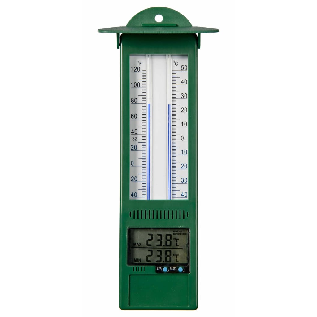 Nature Min-max Digital termometer utomhusbruk 9,5x2,5x24 cm