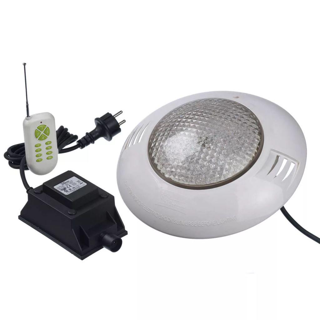 Ubbink Poolspotlight med fjärrkontroll 406 LED flerfärgad 7504613