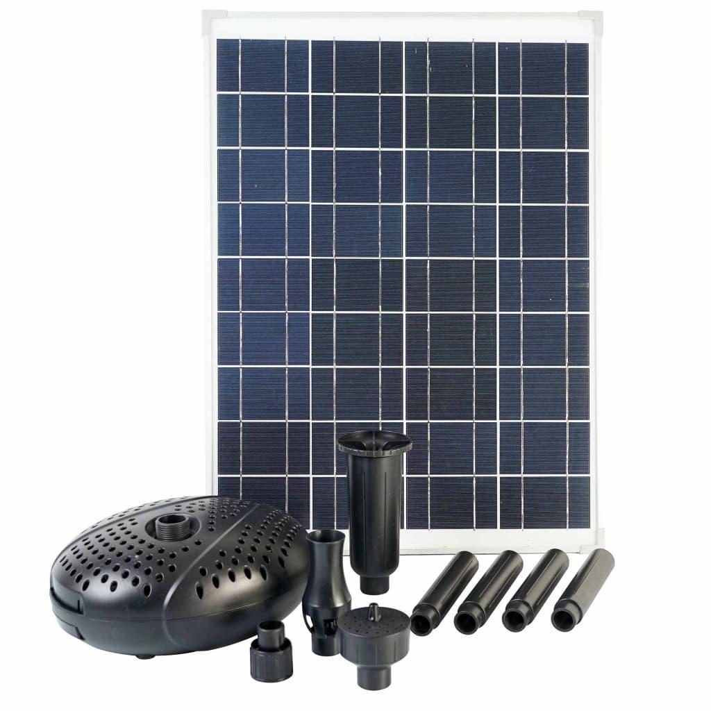 Ubbink SolarMax 2500 set med solpanel och pump