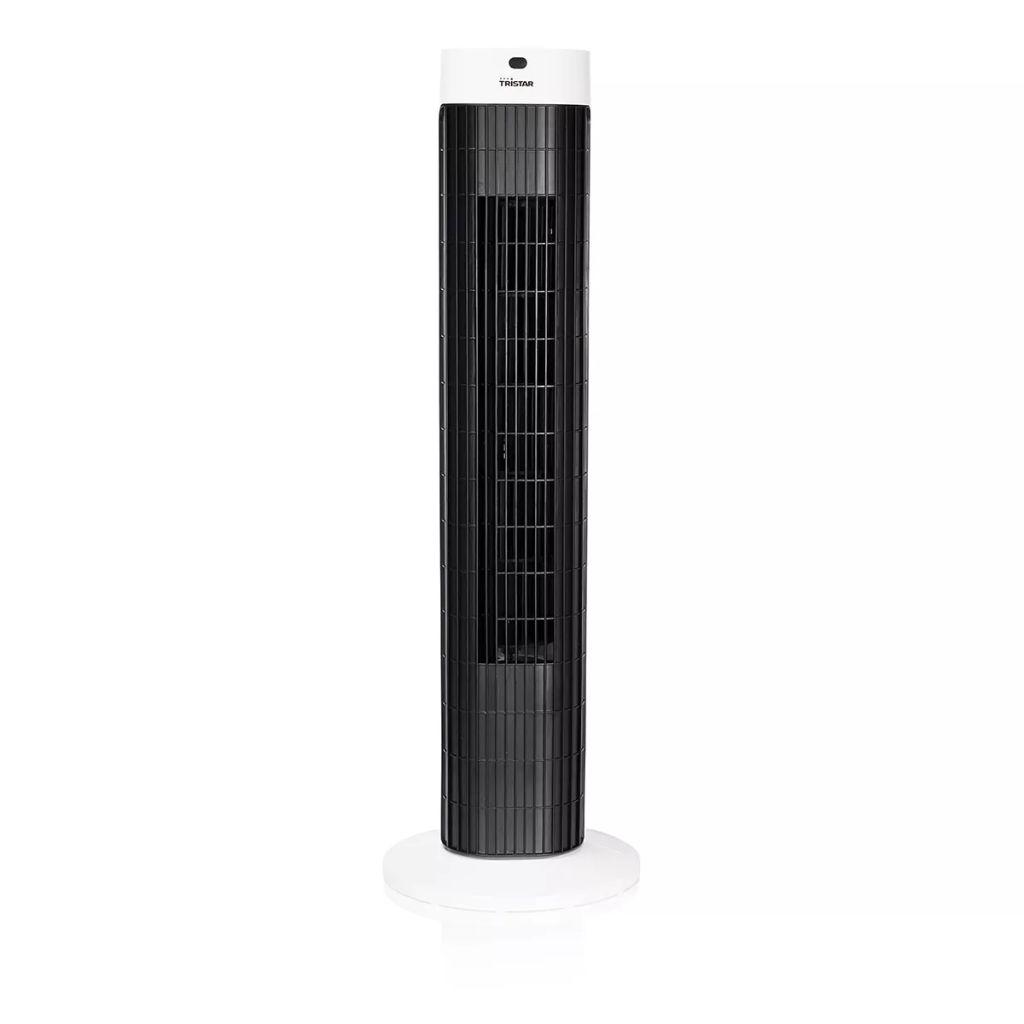 Tristar Pelarfläkt VE-5999 45 W 76 cm vit och svart