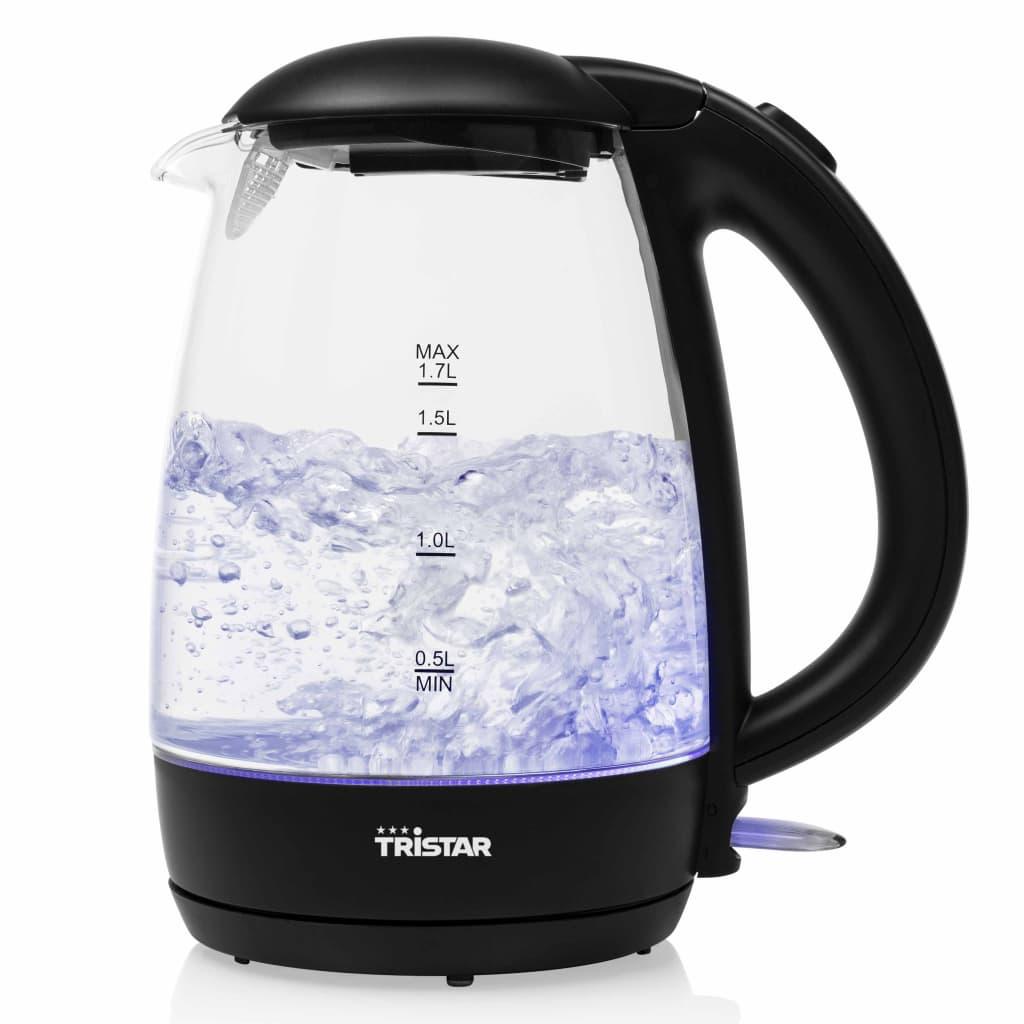 Tristar Elektrisk vattenkokare 2200W 1,7L glas