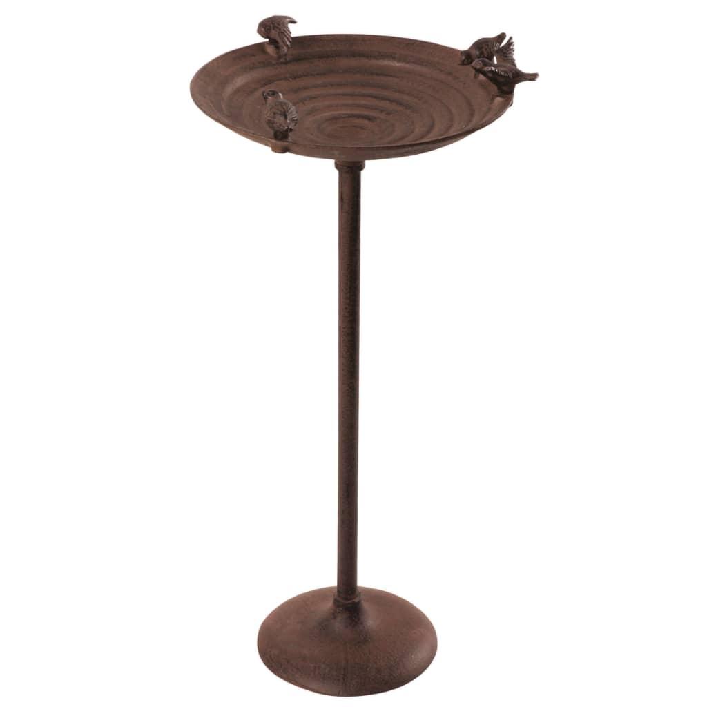 Esschert Design Fågelbad på stolpe gjutjärn