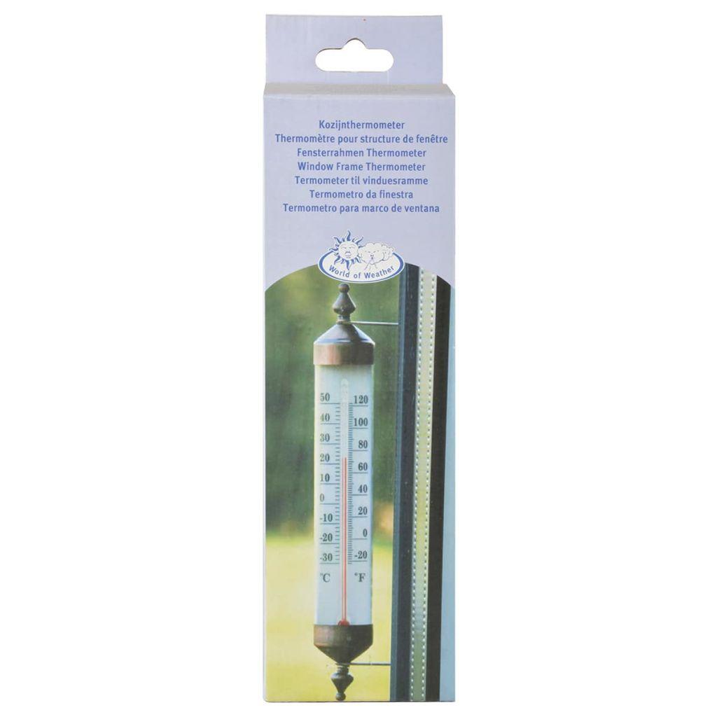 Esschert Design Fönstertermometer 25 cm TH70