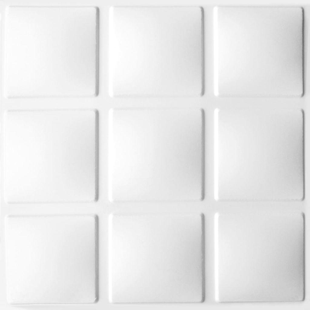 WallArt Väggpanel 3D Cubes 12 st GA-WA07