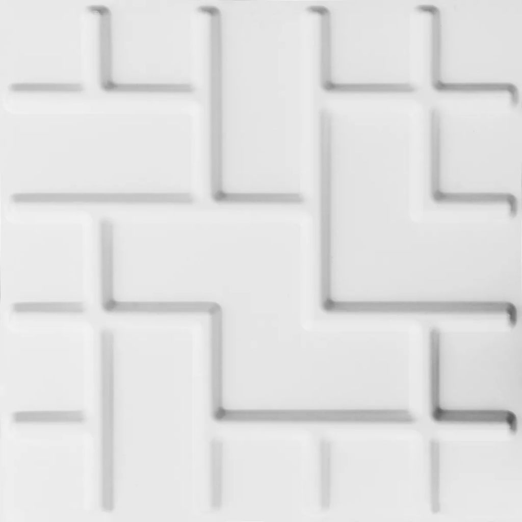WallArt Väggpanel 3D Tetris 12 st GA-WA16