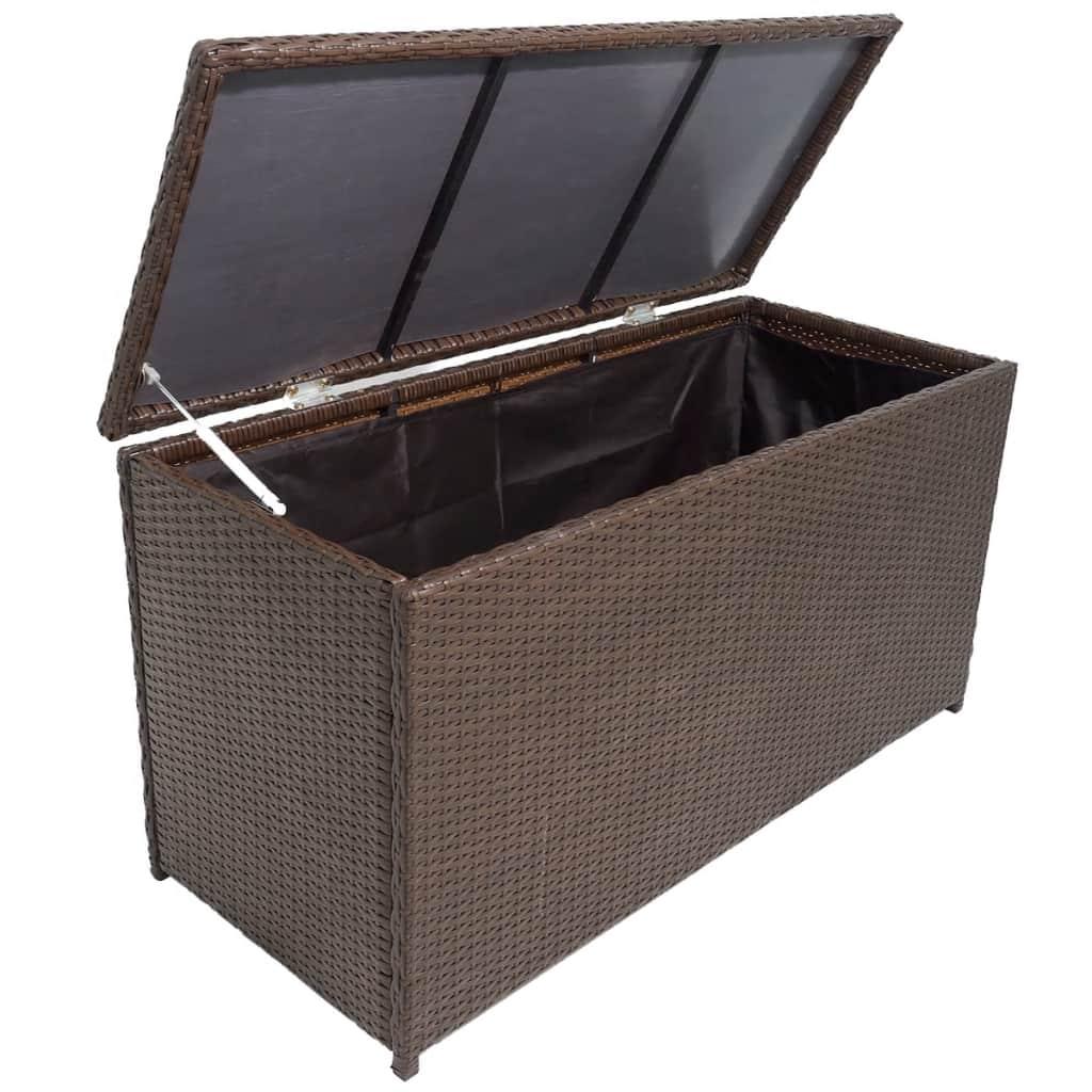 Dynbox 120x50x60 cm konstrotting brun