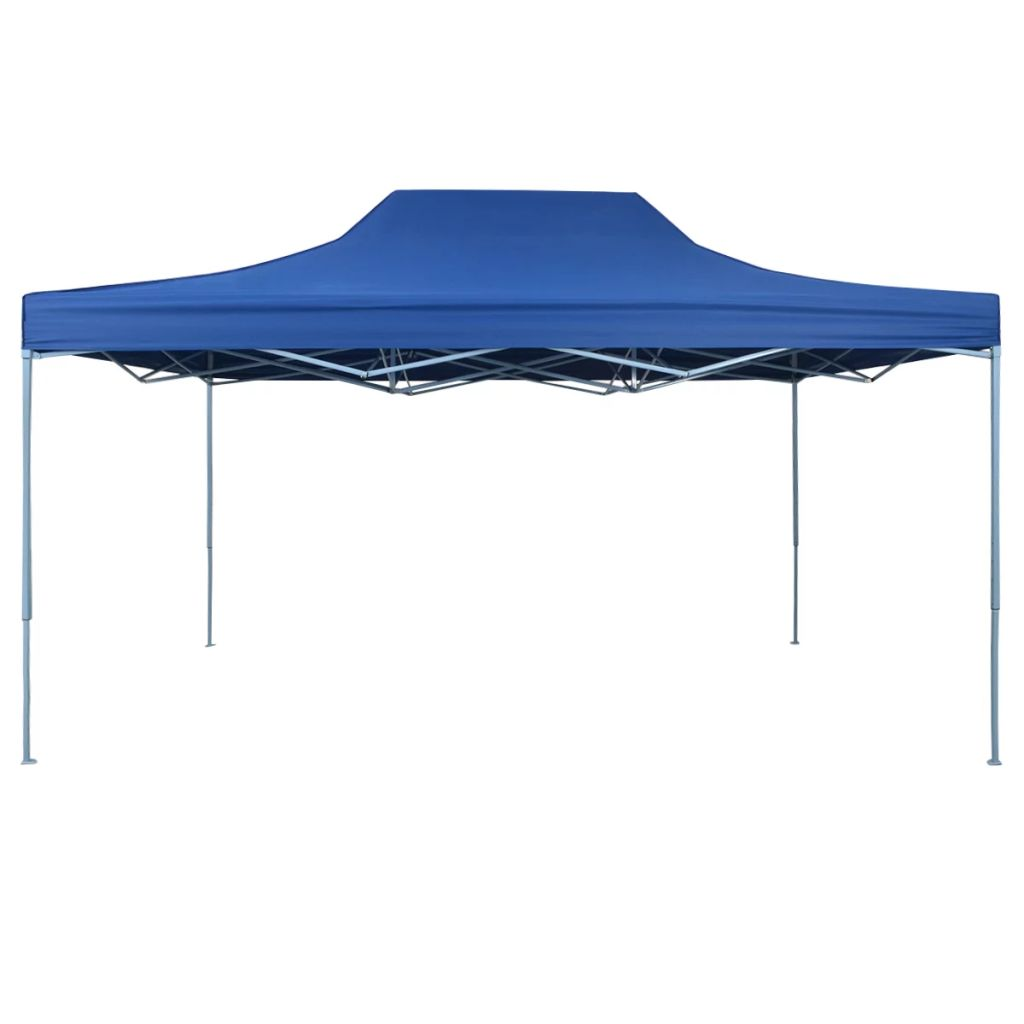 Pop-Up hopfällbart partytält 3x4,5 m blå