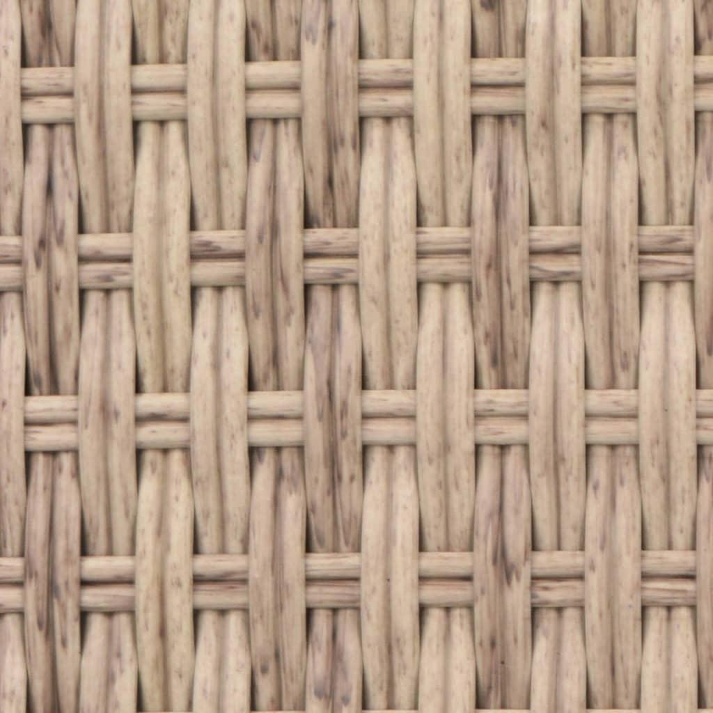 Solsäng konstrotting beige