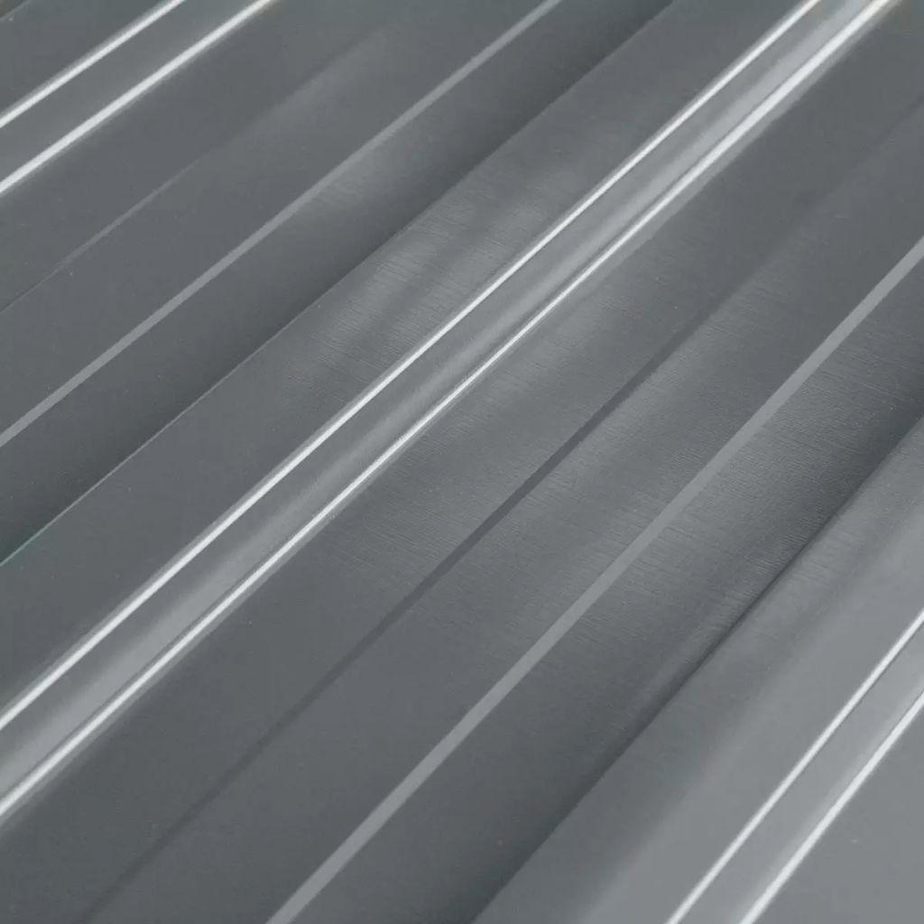 Takprofiler 12 st galvaniserat stål grå