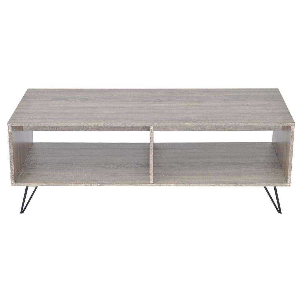 vidaXL TV-bänk/Soffbord 110x50x40 cm grå