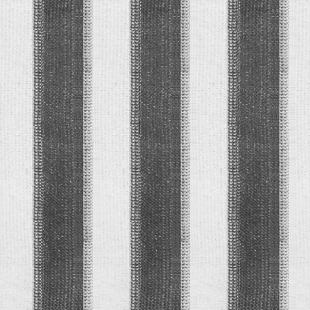 Rullgardin utomhus 100x230 cm antracit och vita ränder