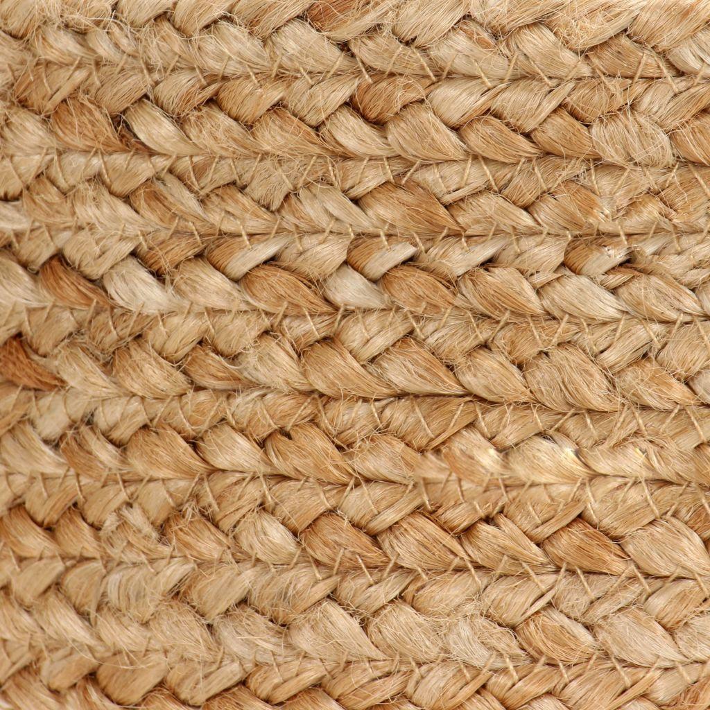 vidaXL Förvaringskorgar 2 st handgjord jute naturlig