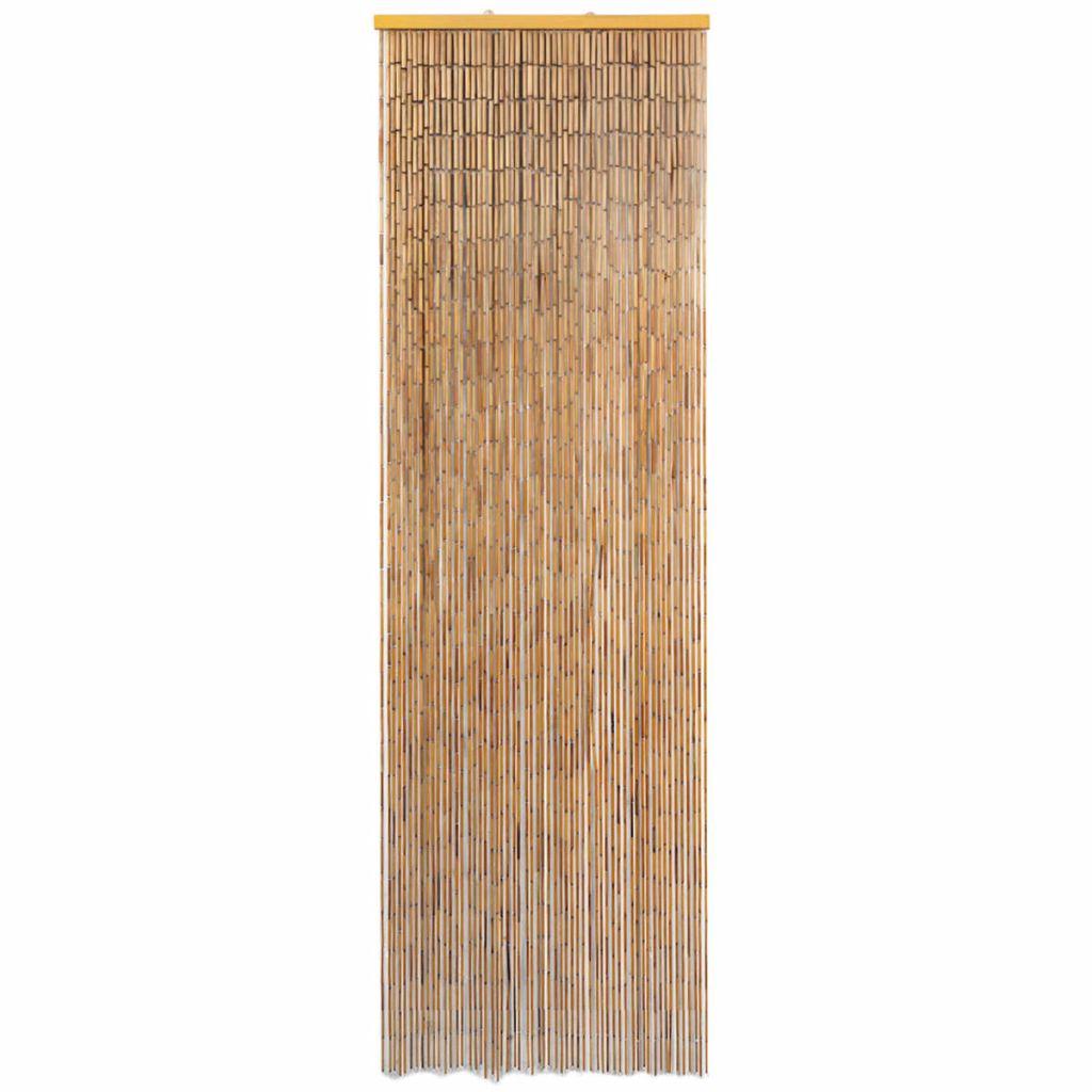 Dörrdraperi i bambu 56x185 cm