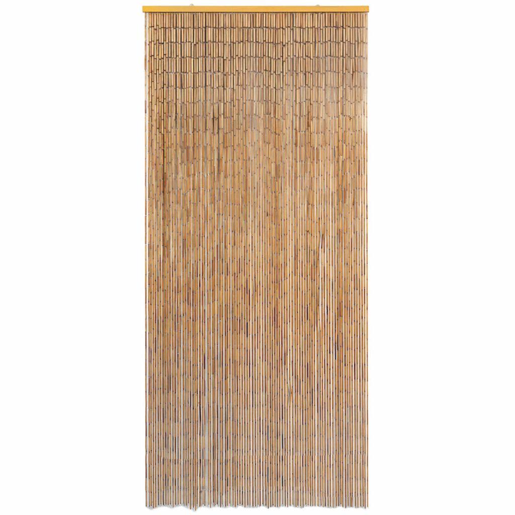 Dörrdraperi i bambu 90x220 cm