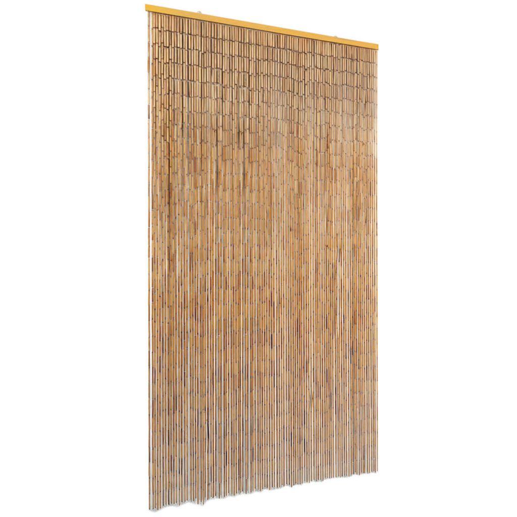 Dörrdraperi i bambu 100x200 cm