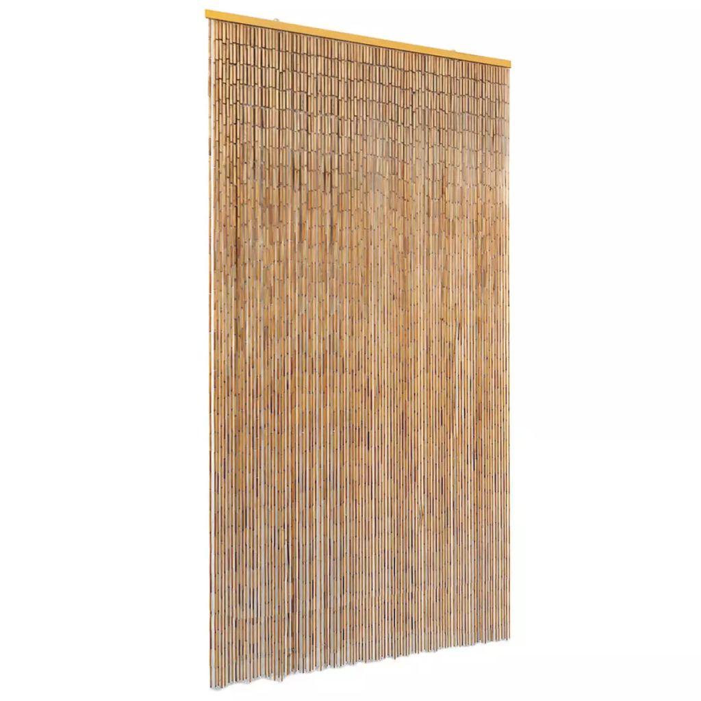 Dörrdraperi i bambu 100x220 cm