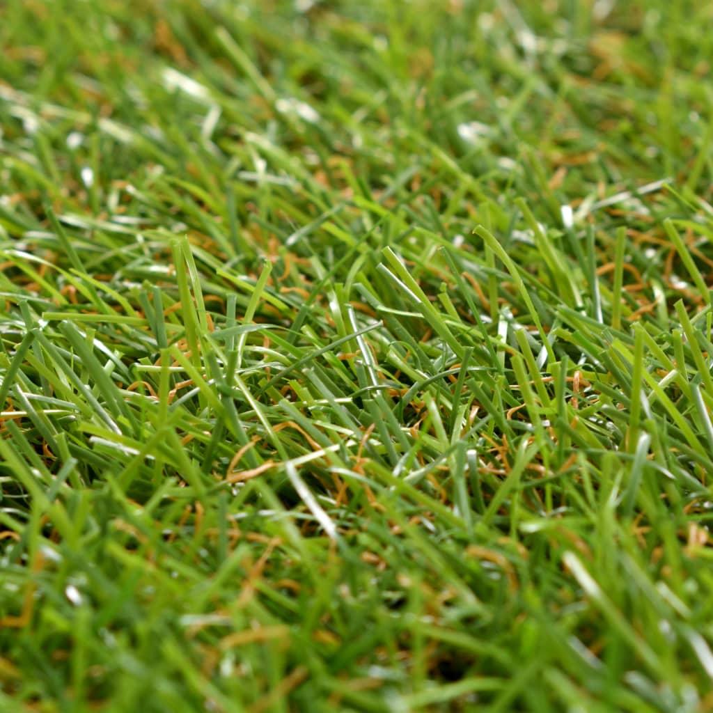 Konstgräsplattor 10 st 30x30 cm grön