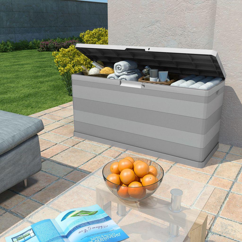 Dynbox 117x45x56 cm grå