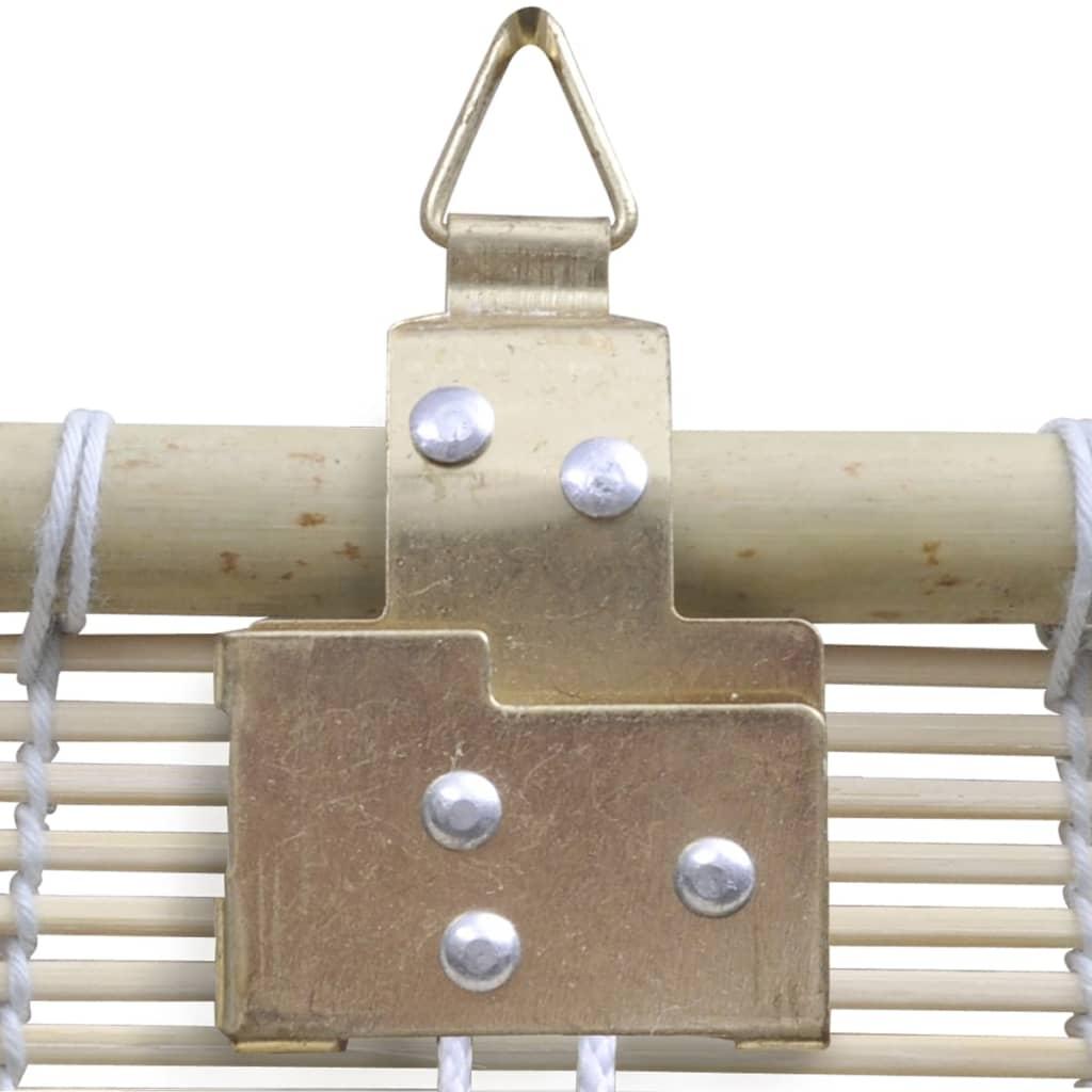 vidaXL Rullgardin bambu 80x220 cm naturlig