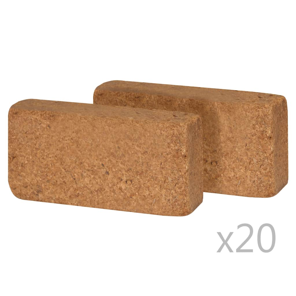 Block i kokosfiber 40 st 650 g 20x10x4 cm
