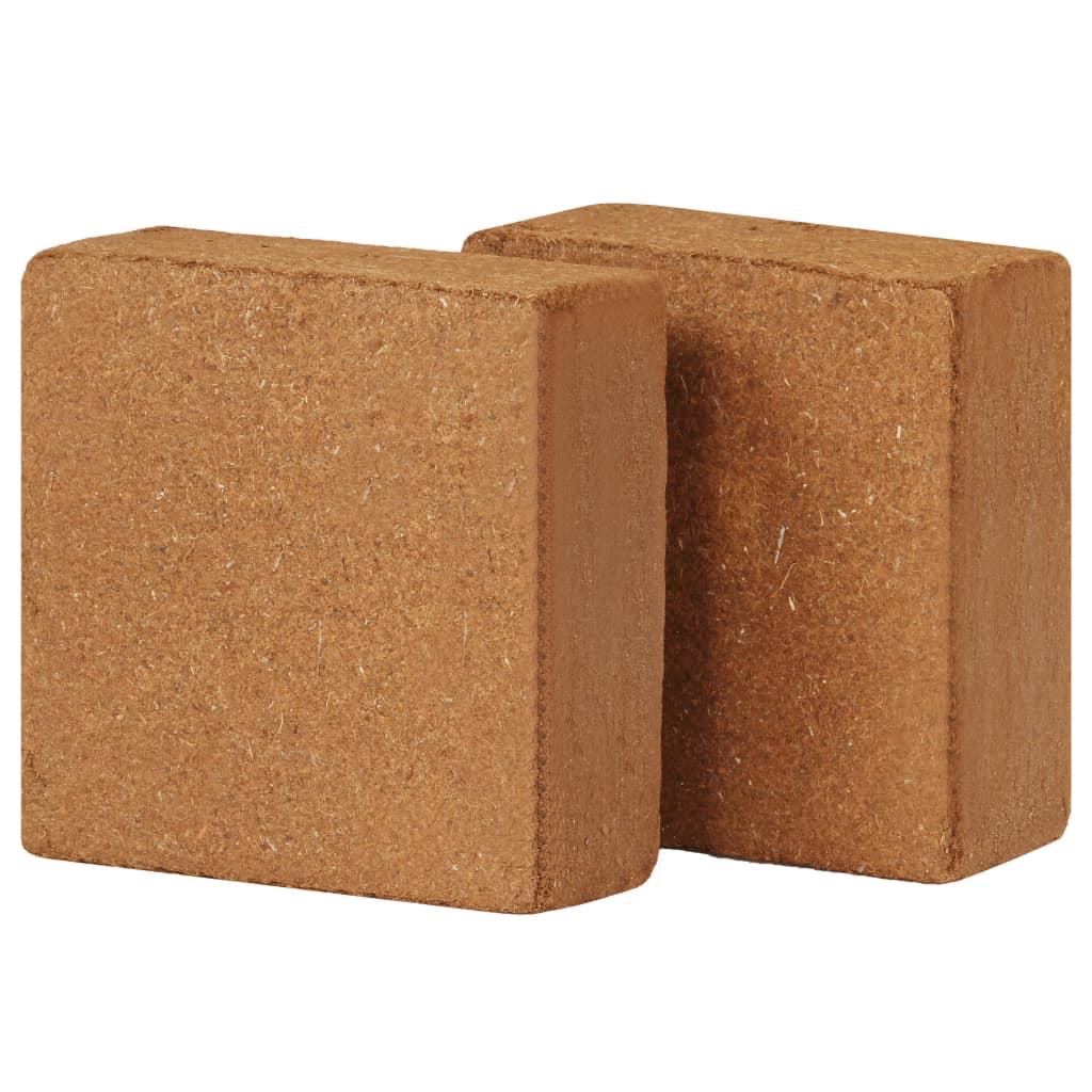 Block i kokosfiber 2 st 5 kg 30x30x10 cm