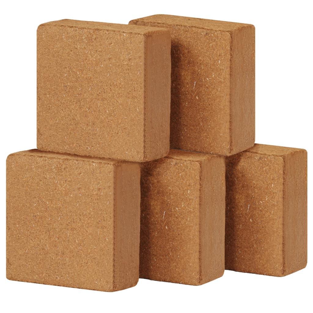 Block i kokosfiber 5 st 5 kg 30x30x10 cm