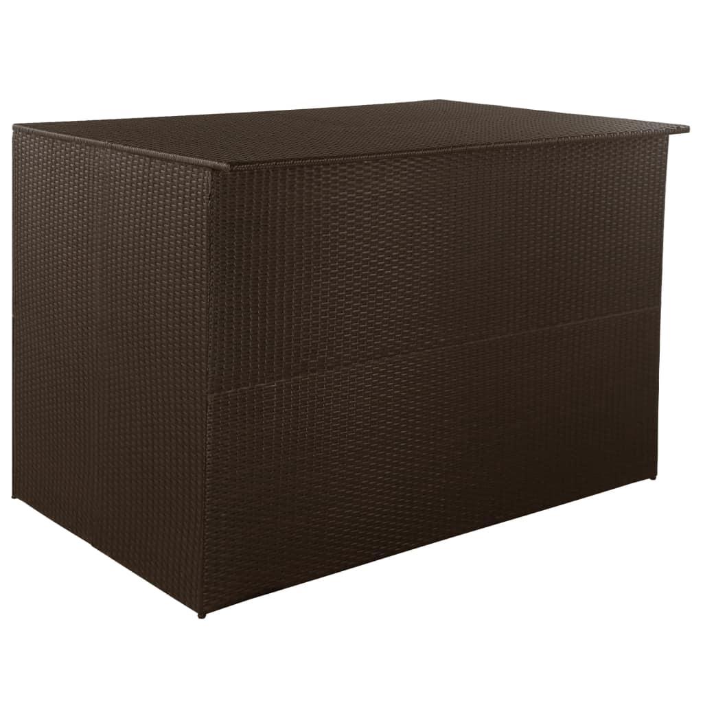 Dynbox 150x100x100 cm konstrotting brun