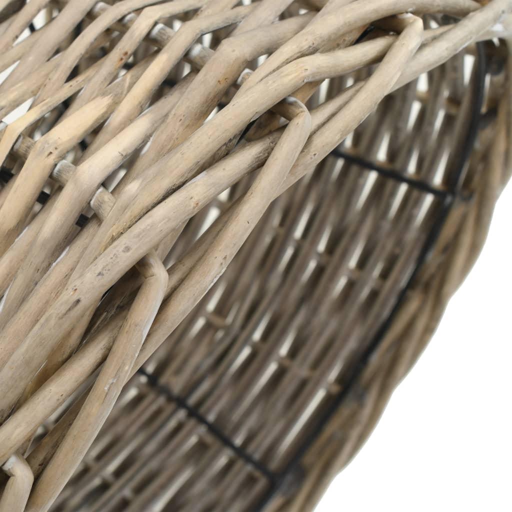 Lampskärm korg 30x20 cm naturlig