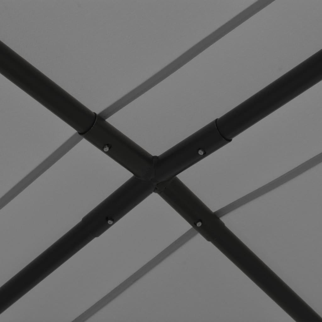 Paviljong 4x4 m antracit