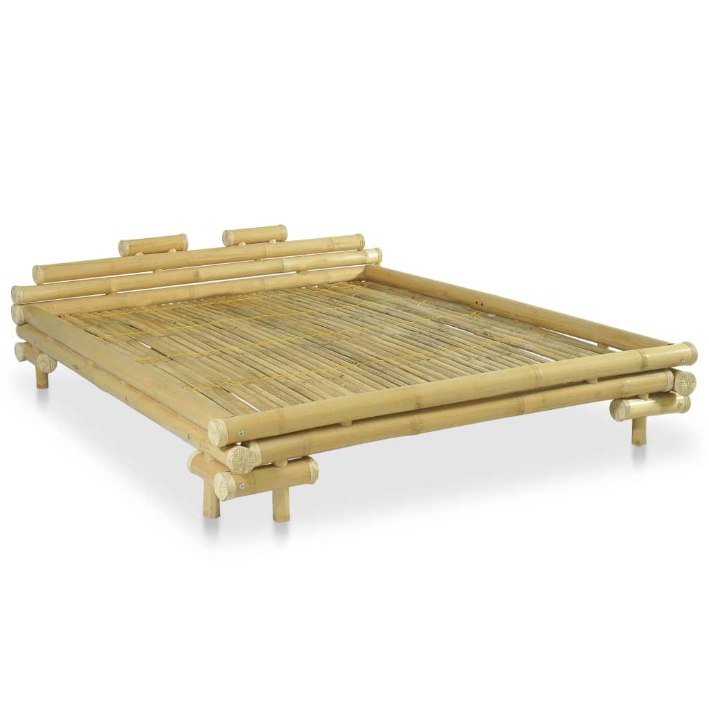 Sängram bambu 160x200 cm