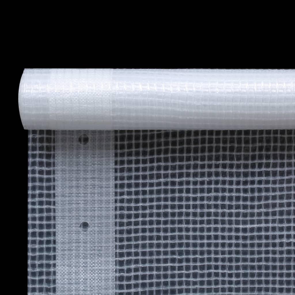 Leno presenning 260 g/m² 4x4 m vit