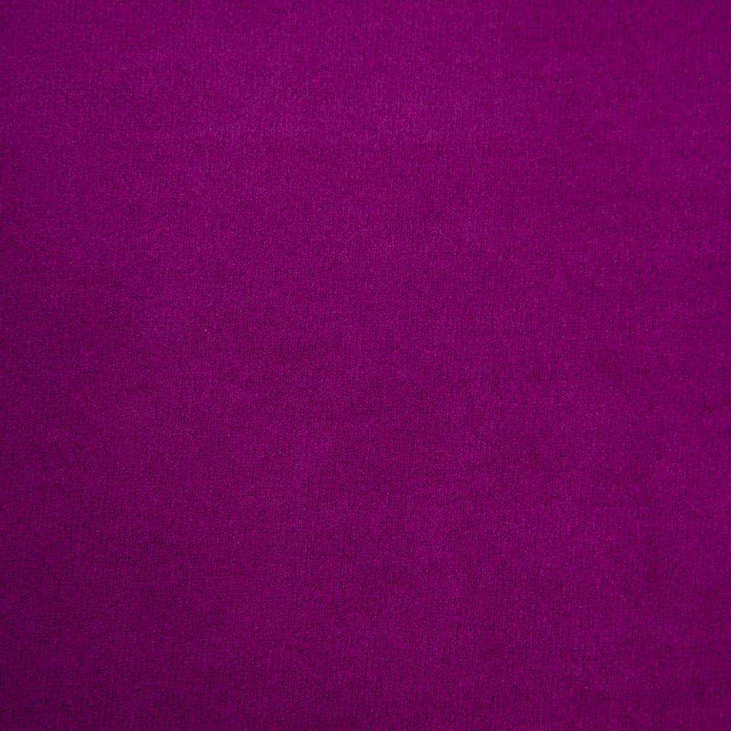 Chesterfieldsoffor 2 st sammetsklädsel lila