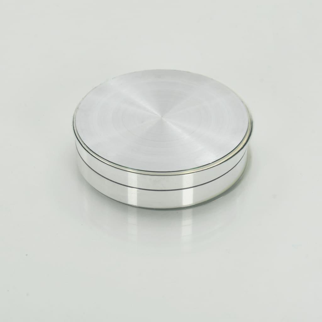 Snurrbar serveringsbricka transparent 60 cm härdat glas