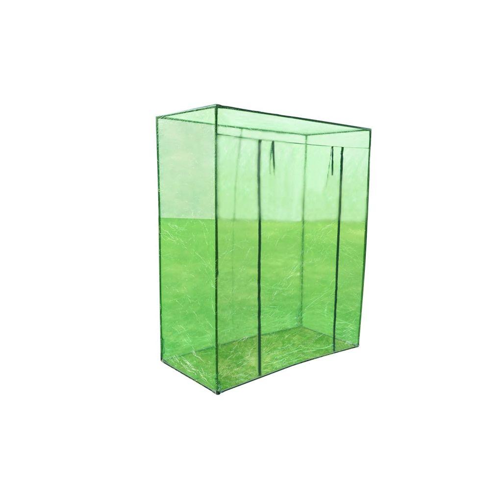 Växthus stålram PVC