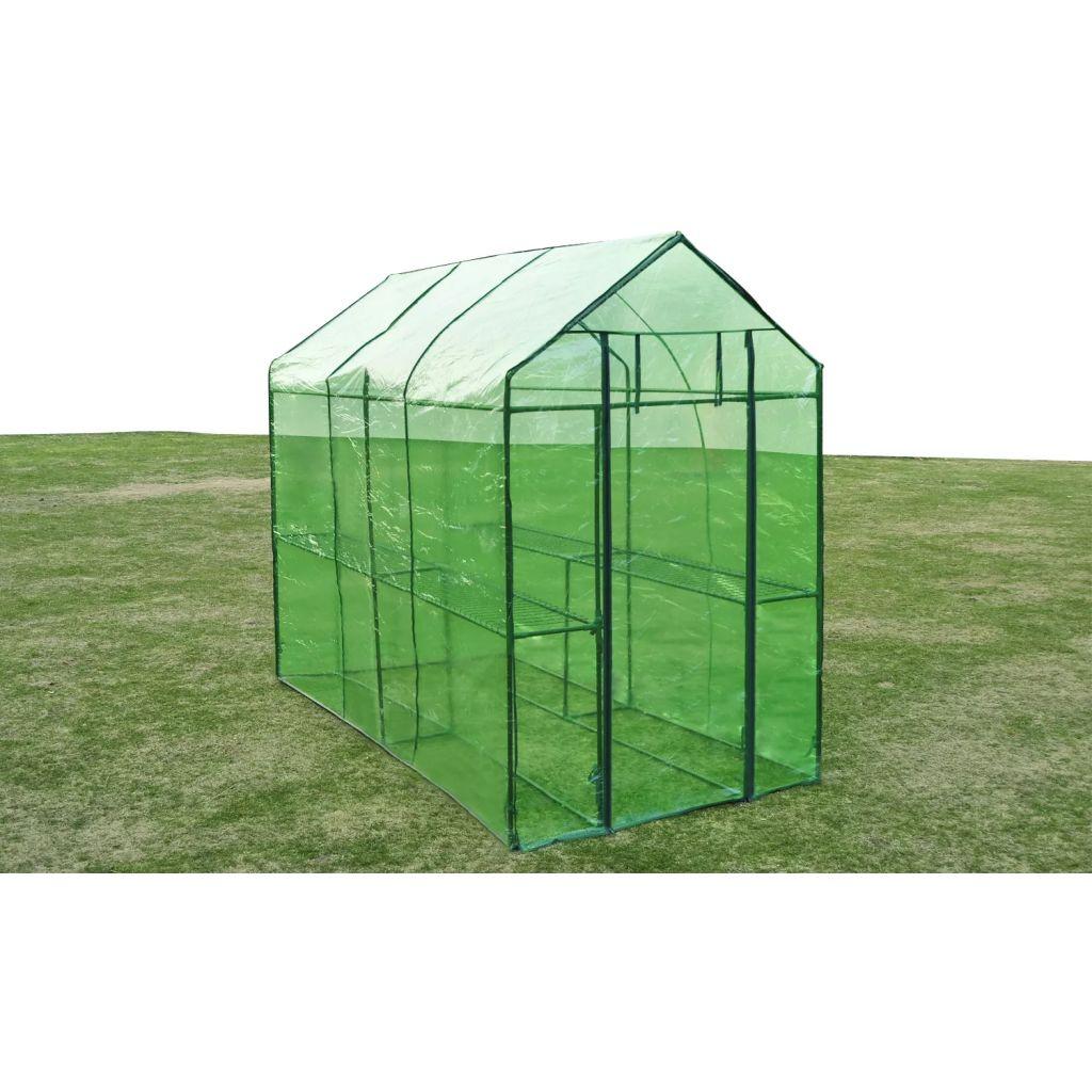 Växthus stål XL